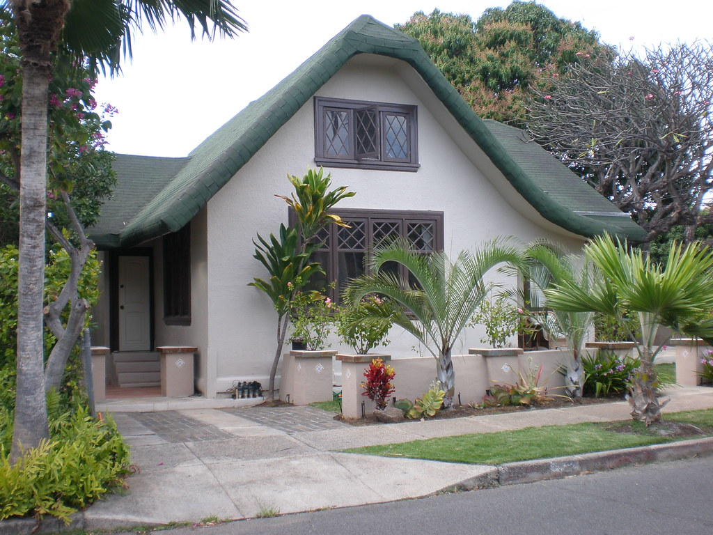 Tudor Revival Style Cottage On Coconut Avenue Tudor