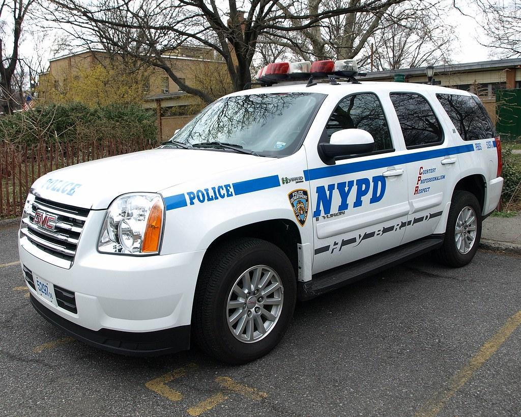 PBBS GMC Yukon Hybrid NYPD Police SUV, Prospect Park, New ...