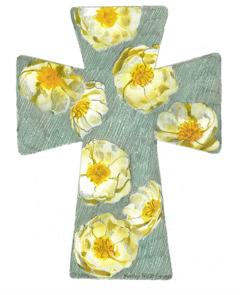 Cross with Flowers   Clipart   WELS net   Flickr