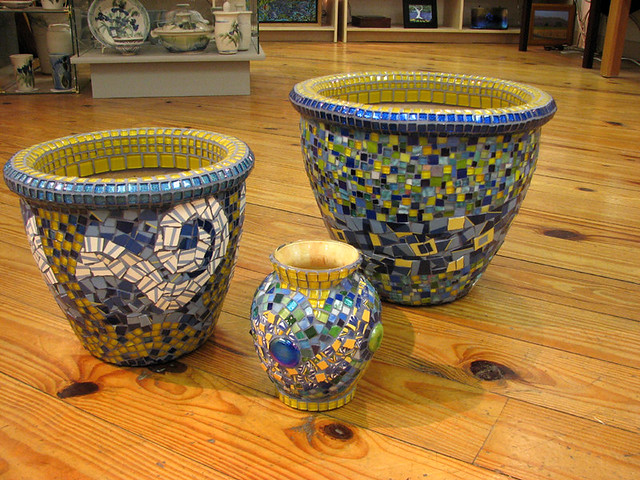 ... Garden Pots April 2009 | By Virginia Mosaics
