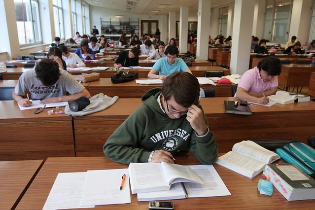 image Estudiando derecho se hacen novios