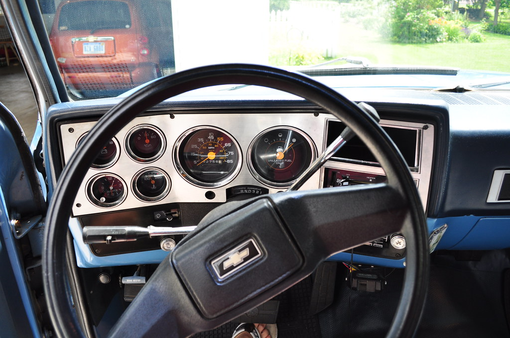 1983 Chevy Truck >> 1983 Chevy Scottsdale Interior | Eric Brow | Flickr