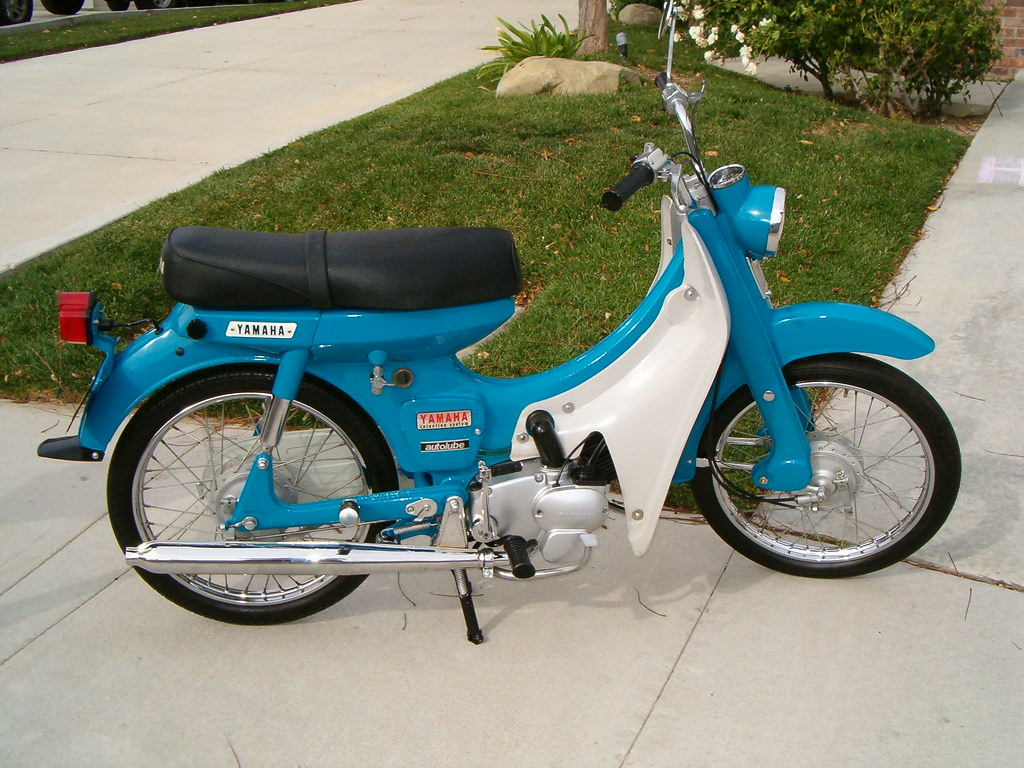 1966 yamaha newport u5 scooter 1966 50cc motorcycle from. Black Bedroom Furniture Sets. Home Design Ideas
