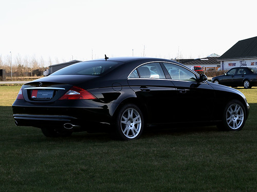 mercedes benz cls 320 cdi rear flickr photo sharing. Black Bedroom Furniture Sets. Home Design Ideas