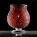 Red Lava Vase
