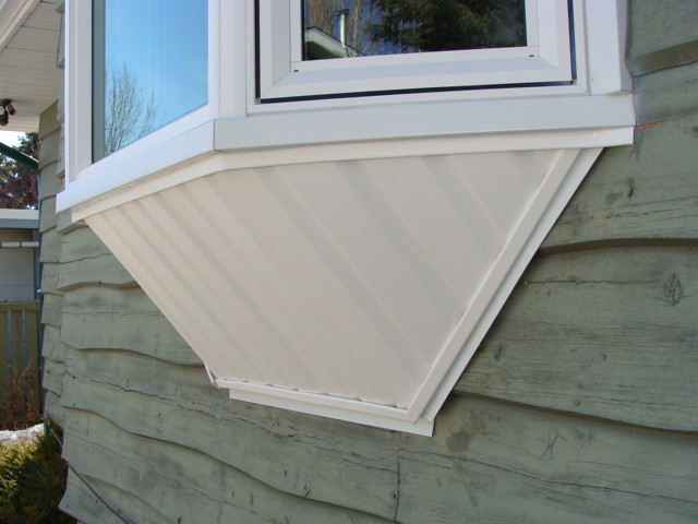 Bay Window Support All Brackets And Framing Is Hidden