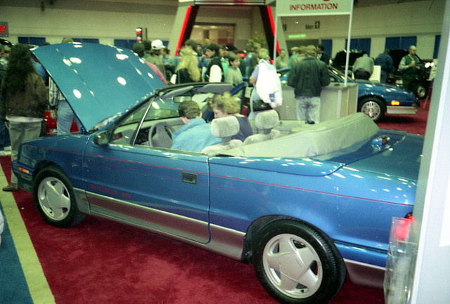 1991 dodge shadow es convertible