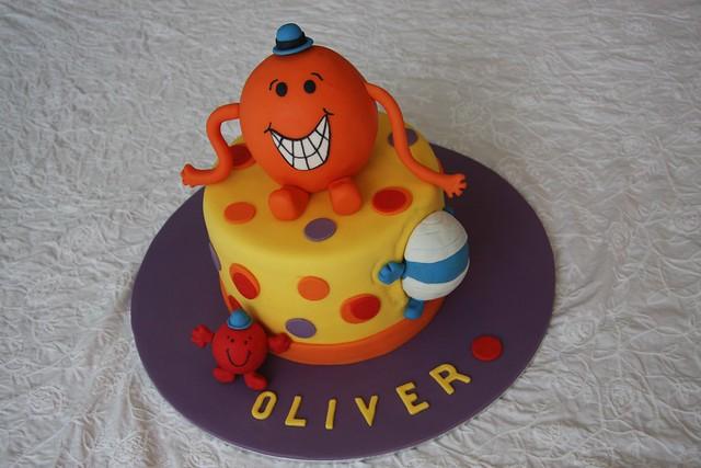 Mr Tickle Birthday Cake Olivers Th Birthday Cake He Wa Flickr - Mr tickle birthday cake