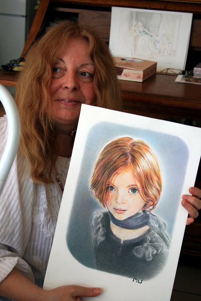 Martine dessin au crayon jean louis zimmermann flickr - Martine dessin ...