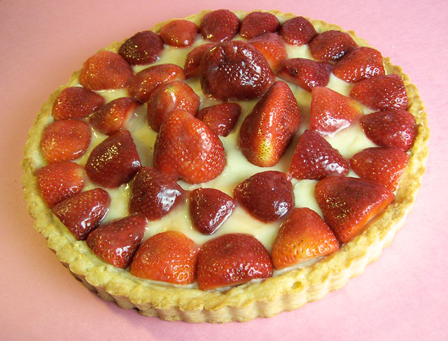 Lemon Glazed Strawberry Tart with Pastry Cream | Recipe | Emily Carlin ...