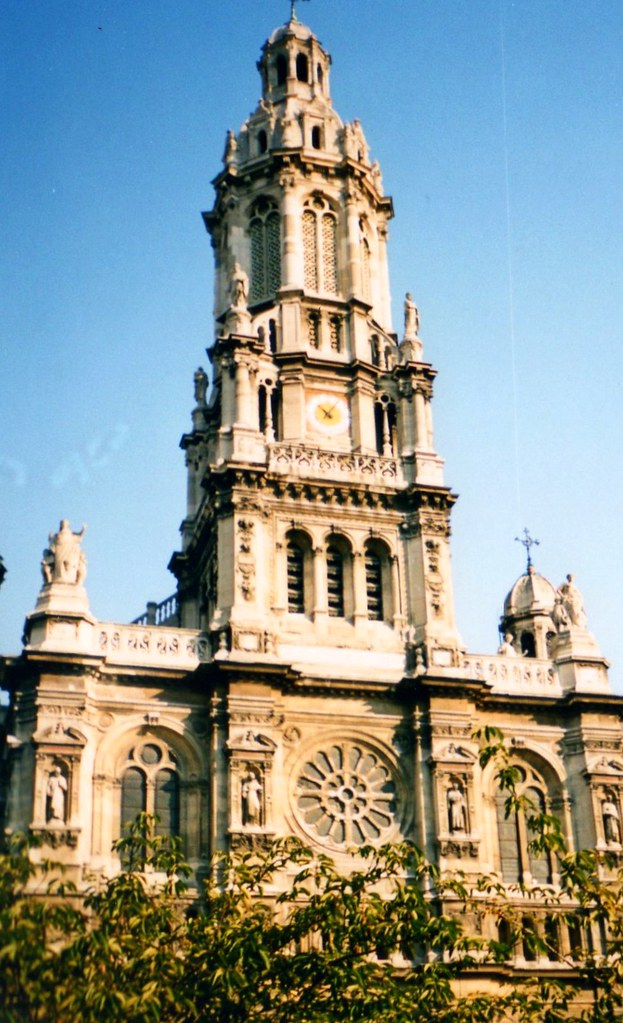 Eglise de la Saint-Trinite Paris