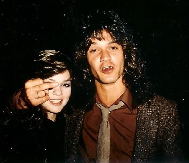 Valerie bertinelli and eddie van halen 1981
