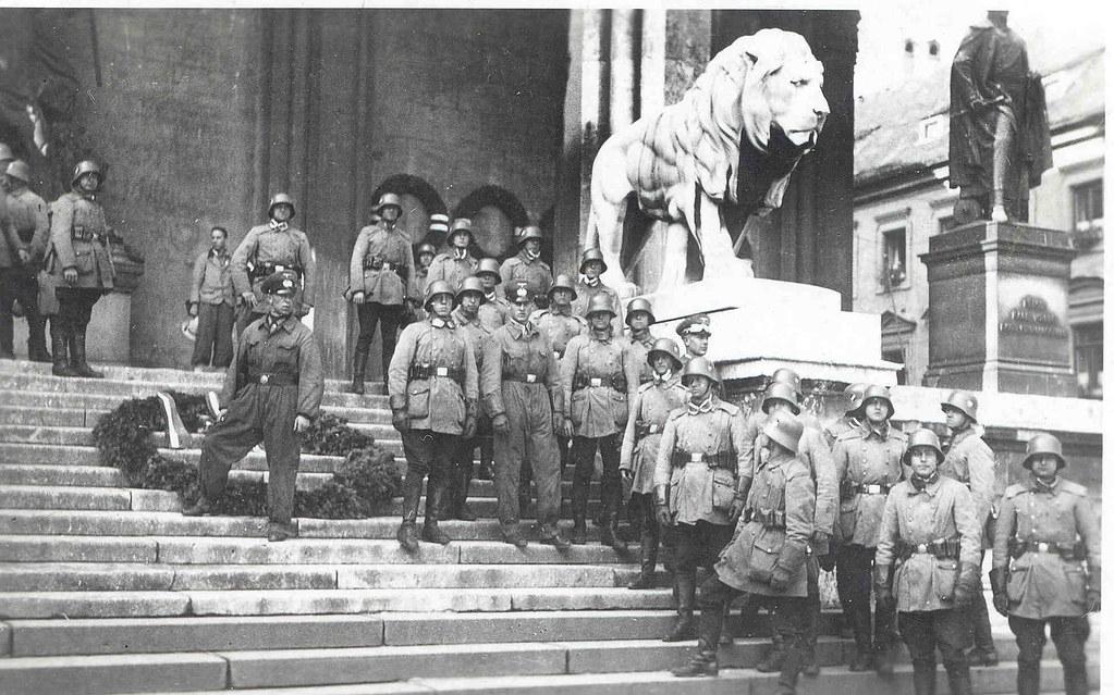 M 252 Nchen Feldherrnhalle Ca 1940 Nazi Wallfahrt Dierk
