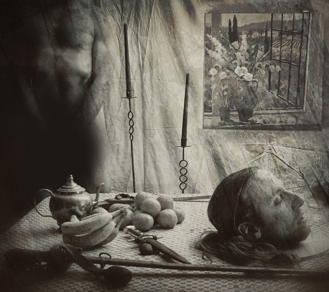 the vanquished (apologies to Joel-Peter Witkin)   EDIT ...