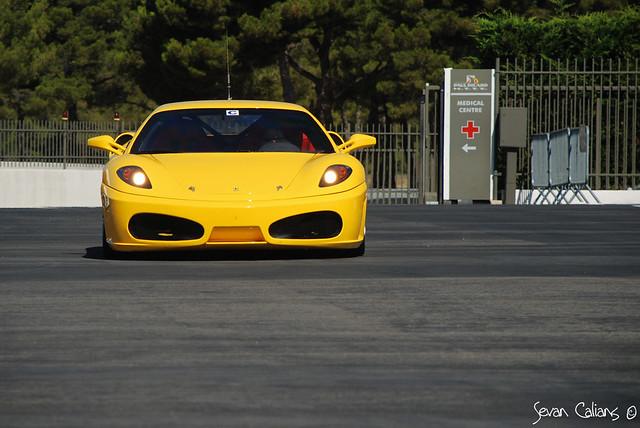 Yellow Speed Ferrari F430 Challenge Ferrari 430 Challeng Flickr