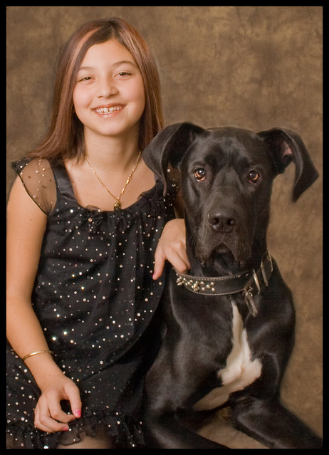 A Girl And Her Great Dane  Flickr - Photo Sharing-1446
