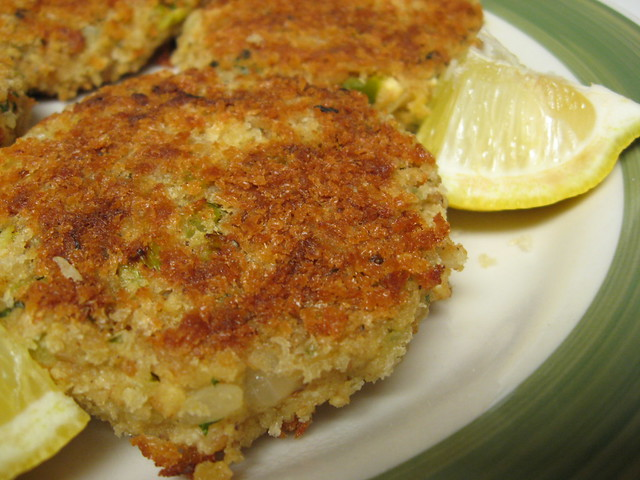 Vegan Crab Cakes With Konbu