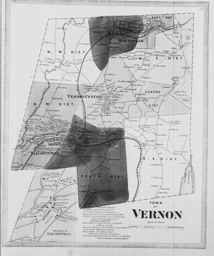 Town of Vernon. (Petersen Collection) | by uconnlibrariesmagic