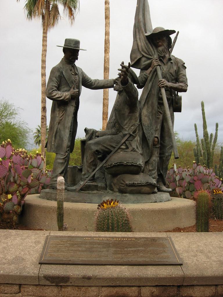 Mormon Battalion Monument   Paulsen Construction