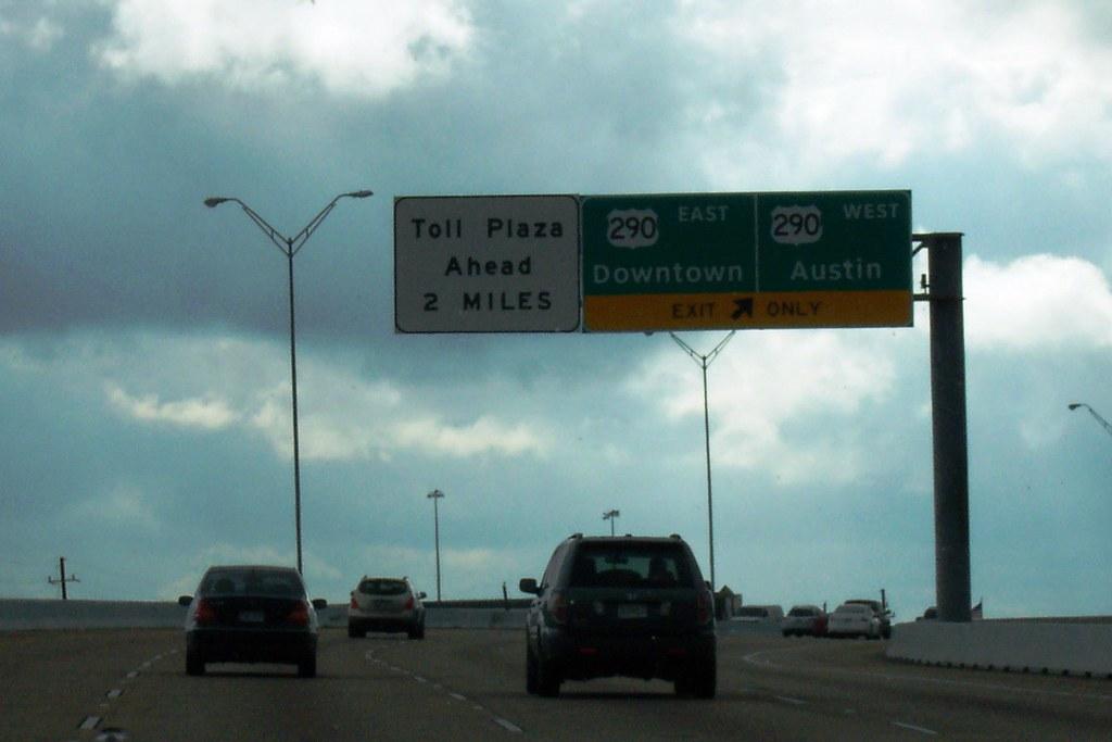 Ez Tag Houston >> Southbound Sam Houston Tollway - Toll Plaza Ahead: 2 Miles…   Flickr