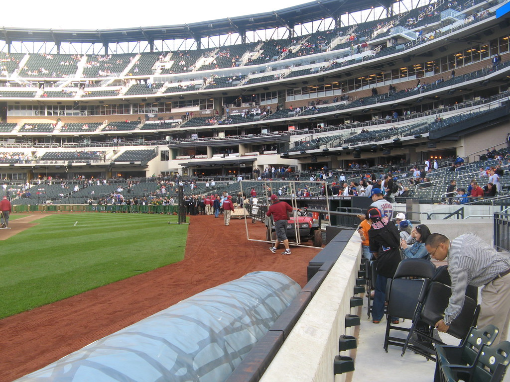 View Of Citi Field From Section 126 Row A Seat 11 05 27