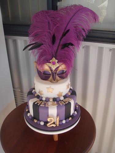 Masquerade Mask Cake Pan