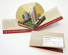 NationBuilder Pop-up Business Card | by loridean