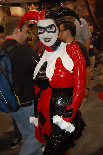 Comic Con 2009 Latex Harley Quinn Flickr Photo Sharing