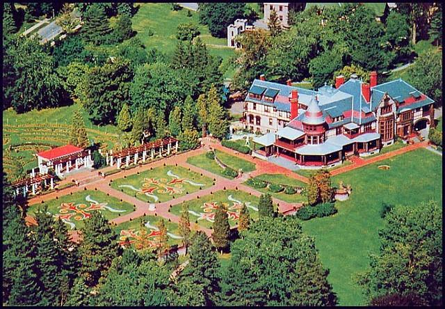 Postcard Sonnenberg GardensCanandaigua New York Flickr