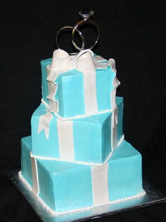 Tiffany And Co Birthday Cake