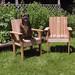 Cedar Chairs + Dog