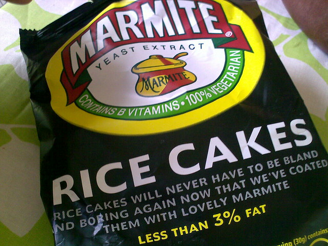 Marmite Rice Cakes Syns