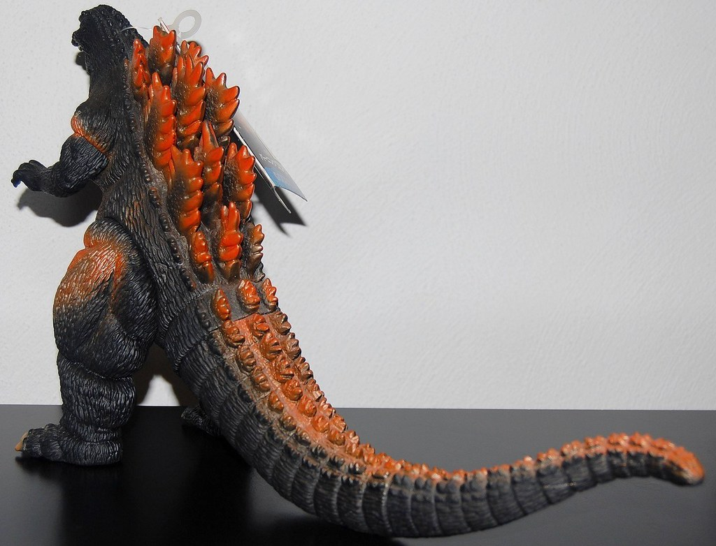 Bandai Godzilla 1995 [1995] Back | 1995 would mark the end ...