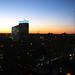 sunset over philadelphia