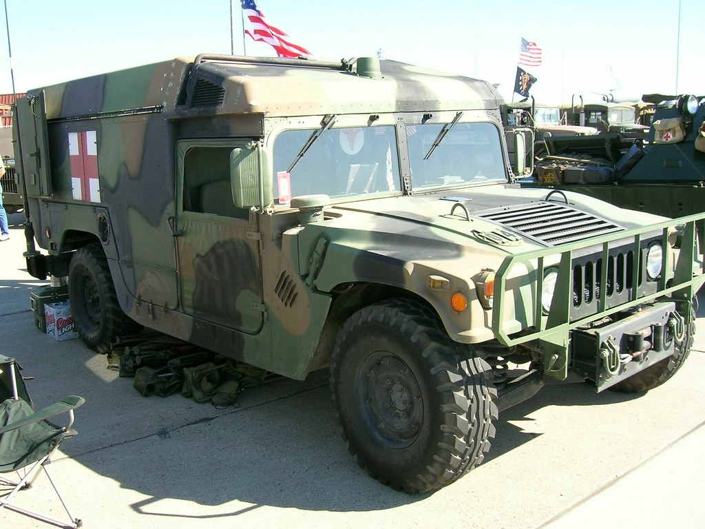General Motors Hummer Ambulance 2 Photograhed At The