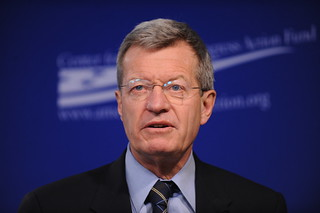 Senator Max Baucus (D-MT) | by Center for American Progress Action Fund