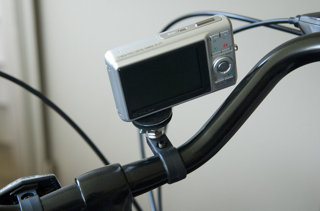 Camera Mount On The Bike Rear As Mentioned Earlier I