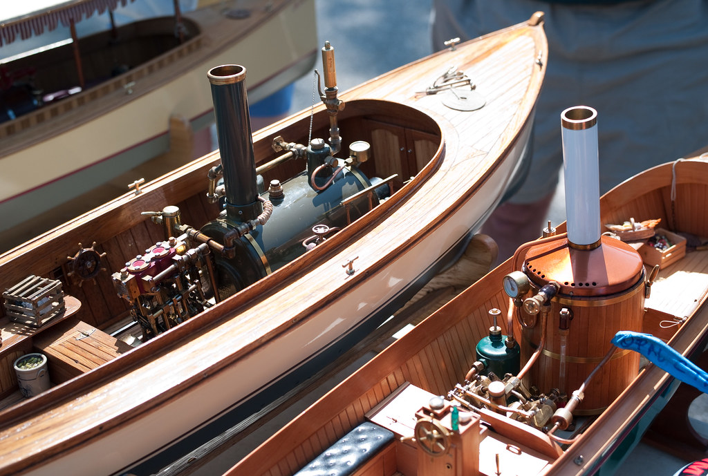 Steam powered model boats | Joi Ito | Flickr