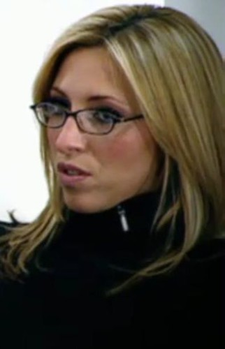 Kate Walsh From Bbc S The Apprentice 2009 Wearing Glasses