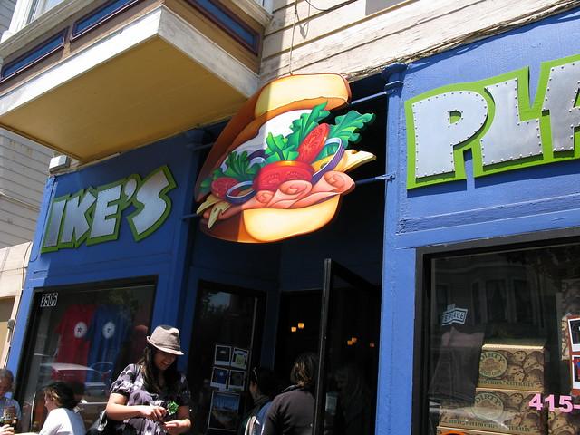 Ike S Place Man Vs Food