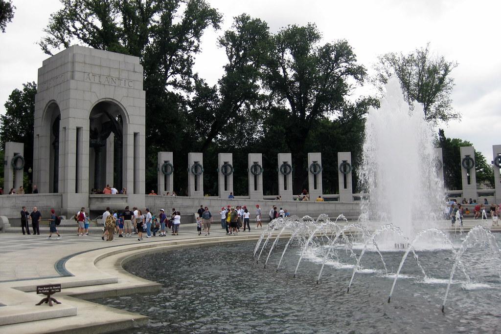 Washington DC United States National World War II Memoria