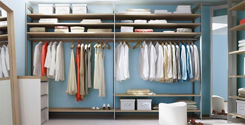 15 Baby Blue Walk In Closet