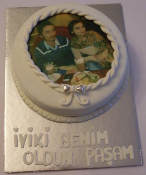 Resim Baskili Resim Baskılı Pasta   by