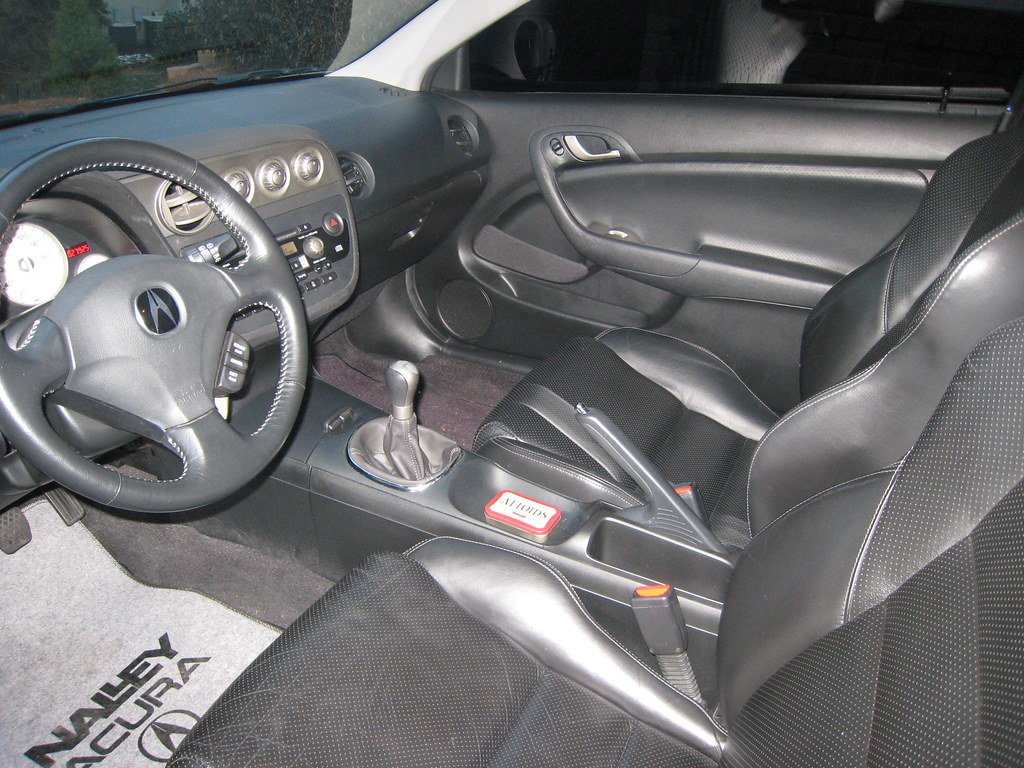 2006 acura rsx type s interior leather interior 6 disc. Black Bedroom Furniture Sets. Home Design Ideas