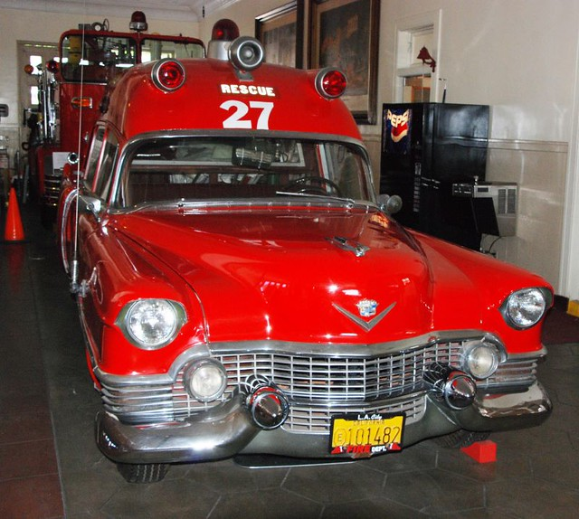 Car Museum Los Angeles >> Cadillac Ambulance | A Cadillac ambulance bearing Los Angele… | Flickr