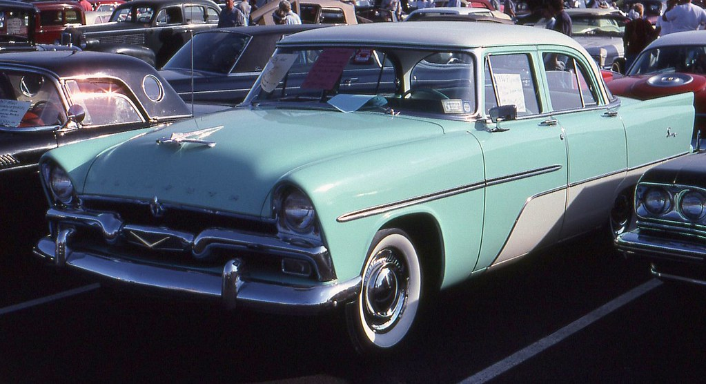 1956 plymouth savoy 4 door richard spiegelman flickr