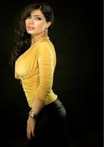 Sexy Iraqi Alia Al Shammari Television Presenter  Bc37 -8587