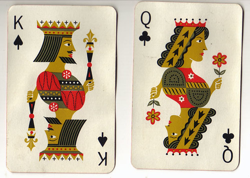 Poker Cards King Queen King And Queen Playing Cards