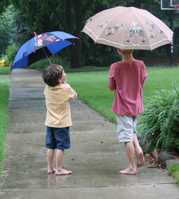 Barefoot Children in the Rain | Barefoot Children in the ...