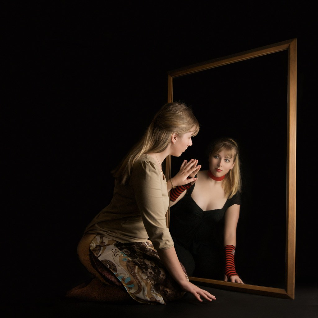 Reflection have you ever looked in the mirror and felt for Looking mirror
